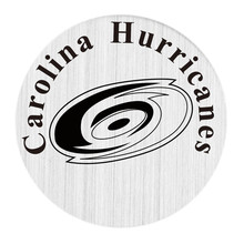 Carolina Hurricanes NHL Team 22MM Stainless Steel Charm Plate Hockey Floating Window Plate Fit Glass Locket 5PCS(China)
