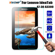 Buy XSKEMP 9H Tempered Glass Lenovo IdeaTab A7-30 A3300 7.0 inch Screen Protector Tablet PC Anti-scratch Protective Film Guard for $2.62 in AliExpress store
