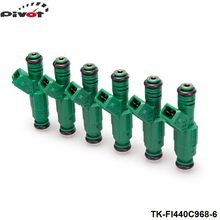 Tansky 6PCS/LOT High flow 440CC 0280155968 Fuel Injector For Audi A4 S4 TT 1.8L 1.8T TK-FI440C968-6