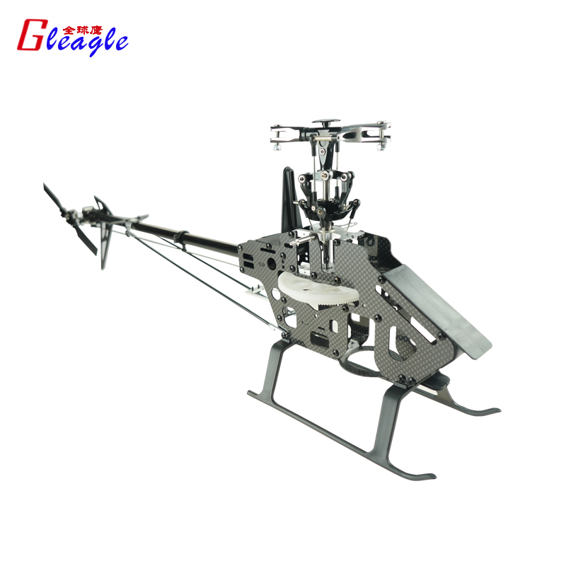 Free Shipping Global Eagle 450FBL Flybarless Helicopter Unassembled Frame kit (Carbon fiber Body/FBL Rotor)<br><br>Aliexpress