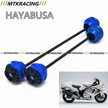 Free delivery for SUZUKI HAYABUSA 2008-2015  CNC Modified Motorcycle Front wheel drop ball / shock absorber
