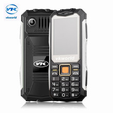 Original VKworld Stone V3S Mobile Phone 2.4 inch Dual SIM Waterproof 21 Keys Bluetooth FM Cell Phone Built in 2200mAh Battery