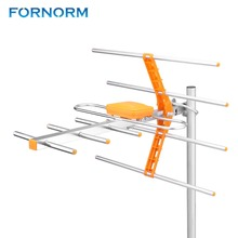 FORNORM Reception Range 470MHz 860MHz Outdoor Antenna High Gain HDTV Antenna Digital Amplified Outdoor Attic Roof HDTV(China)
