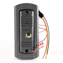 Outdoor Unit Color Video doorphone camera Night Vision intercom Camera