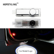 Buy Land Rover Sport Evoque Range Rover Free Lander 2 LED laser projector logo light car styling wireless door lamp for $12.88 in AliExpress store
