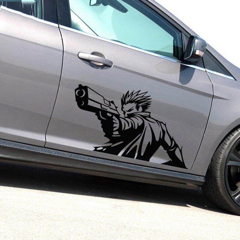 Cartoon Vinyl Car Side Decal Sticker Fit Motorfiets Auto Stickers Decor H