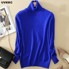 New 2017 Autumn Fashion Women Sweater Plus Size Elastic Turtleneck Sweater Women Slim Sexy Tight Bottoming Knitted Pullovers