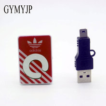 GYMYJP new Wholesale Portable  Mini Clip MP3 Player sport mp3 music player mp3 player with cable packaging