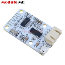 Wireless Bluetooth 4.0 Stereo Audio Receiver Module Digital Amplifier Sound Loud Board Micro USB 3W+3W 5V DC For Arduino(China)