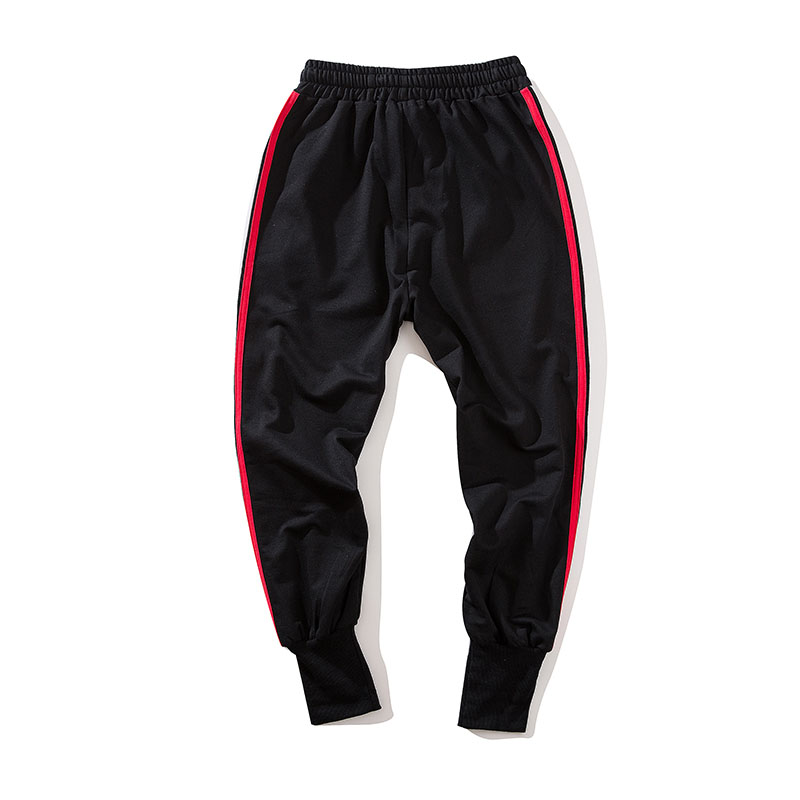 Aolamegs Pants Men Side Striped Pants Track Pants Male Trousers Elastic Waist Fashion High Steet Joggers Sweatpants Streetwear (14)