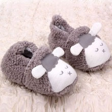 Lovely Baby Boys Girls soft fur shoes Winter Warm Plush Booties Infant Soft Slipper Crib Shoes 0-12M