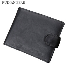 Buy KUDIAN BEAR Leather Men Wallet Card Holder Rfid High Travel Male Purse Bifold Carteira Masculina-- BID210 PM49 for $8.93 in AliExpress store