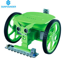 SunFounder Rollman STEM Learning Educational DIY Robot Kit GUI-Mixly for Arduino Beginner Bluetooth Photosensitive Infrared(China)