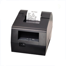 58mm thermal rececipt printer with Parallel interface HS-58FIP support LOGO download printing application for store, bank, post
