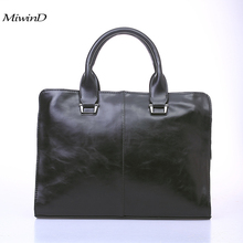 Men Bag Leather High end Fashion Men Messenger Crossbody Bags 2017 Hot Sale Designer Black Casual Male Business Briefcase Bolsas
