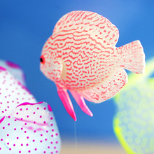 Decor Goldfish Jellyfish Aquarium Decoration Artificial Glowing Effect Glow in the dark Fish Tank Ornament Silicone Pet Gift