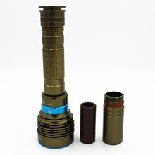 8000Lm Underwater Diving LED Flashlight 7x XML-T6 Diver Torch Light for 2x18650 or 26650 battery Tactical flashlight