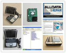 v10.53 alldata and mitchell software 2in1 installed in laptop cf19 touch screen for car and truck diagnostic computer hdd 1tb