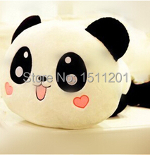 25cm Giant Panda Pillow Mini Plush Toys Stuffed Animal Toy Doll Pillow Plush Bolster Doll Valentine's Day Gift