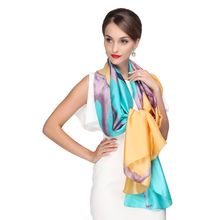 2016 new super large cheap candy color silk feeling fashion satin scarf women long scarf shawl designer brand accessorie hijab