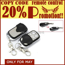 Clone Programmable 433.92mhz Remote Control For Garage Door Opener(China)
