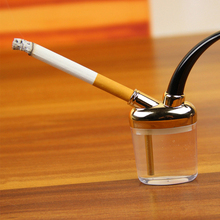 2016 Hot Sale Mini Hookah Mini Smoking Pipe Glass Pipe Water Pipe Small Shisha Random Color