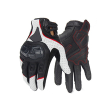 Hot sales of motorcycle racing knight leather gloves bicycle driving a moto can touch screen gloves