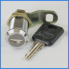 5 pieces 30mm waterproof dustproof keyed differently flat key tubular post box cam lock(China)