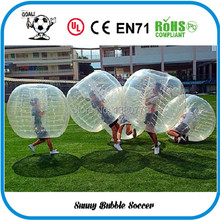 Birthday Gift Inflatable bubble ball suit, football bubble, soccer zorb ball. bumperz, human hamster ball  team building games