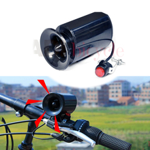 Buy MTB Bicycle Bell Electronic Speaker Black Bicycle Electric Horn Loud Voice Road Bike Foldable Bicycle Safety Warning Bell for $4.74 in AliExpress store