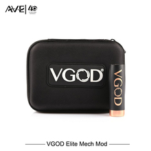 Presale 100% Original VGOD Elite Series Mech Mod With Vgod Vapor Case Bag Kbag Vaporizer match With PRO DRIP RDA E cigarette