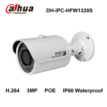 Buy Dahua IPC-HFW1320S 3MP P2P Bullet POE Camera 30M Night Vision IP66 Waterproof Network IP Camera Replace IPC-HFW4300S CCTV Camera for $64.26 in AliExpress store