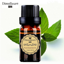 Dimollaure Mint Essential Oil remove black head Refreshing air Inspiring spirit helpful to colds Aromatherapy(China)