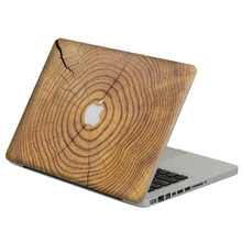 "Cracking wood Laptop Decal Sticker Skin For MacBook Air Pro Retina 11"" 13"" 15"" Vinyl Mac Case Body Full Cover Skin"