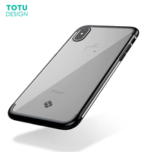 Buy TOTU Luxury Plating Case iPhone X 10 Capinhas Ultra Thin Electroplating Soft TPU Back Cover Case iPhone X Shell Coque for $4.99 in AliExpress store