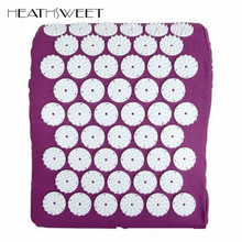Healthsweet Massage Relaxation Neck Massager Pillow for Shakti Relieve Stress Pain Acupressure Acupuncture Pillow Yoga Pillows(China)