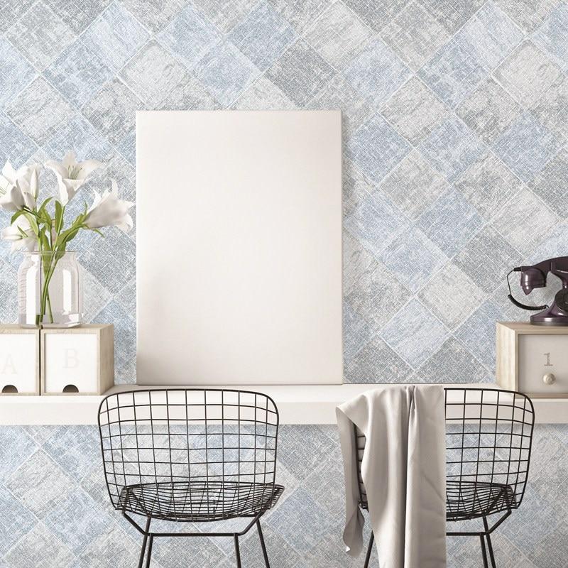 beibehang wallpaper Diamond Texture Tile Marble Pattern Kitchen Gallery Wallpaper Living Room Restaurant Background Wallpaper<br>