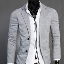Men's Suit Blazers Two Button Casual  DressSingle Breasted Jacket Formal Blazer Slim Fit Coat Tops 0371