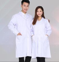 Workshop servant Medical clothing Spring Lab coat White coat Men Veterinario Woman Clothing for feeding