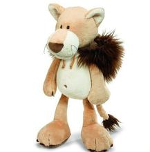 NICI plush toy stuffed doll soft brown lion with hat disguise change 1pc Christmas birthday gift free shipping