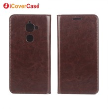 Case Cover For Letv LeEco Le Max 2 X820 Genuine Crazy Horse Leather Case Phone Bag Money Card Slot Stand Cover Shell Accessories(China)