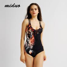 miduo Professional Women Printed Competition Swimsuit One Piece Sport Swimwear Sport Swimming One-Piece Suits