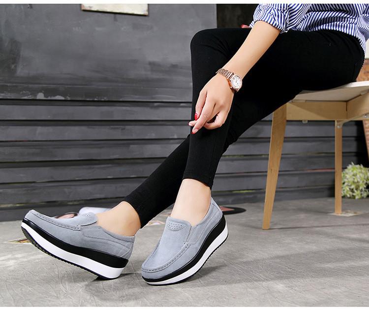 HX 3213 (17) Autumn Platforms Women Shoes