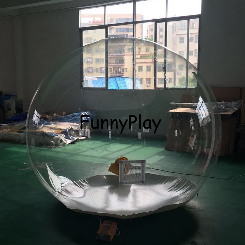 inflatable clear Camping Tent4