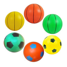 8-12cm Inflatable Football Basketball Beach Swimming Pool Soccer Ball Holiday Party Game Kids Toy Gift For Children(China)