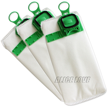 3pcs high efficiency dust filter bag replacement for VK140 VK150 Vorwerk garbage bags FP140 Bo rate kobold Vacuum cleaner(China)