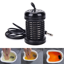 Stainless Steel Pro Detox Foot Bath Arrays Round Array Aqua Spa Foot Massage Relief Tool Ionic Cleanse Ion durable Pop(China)
