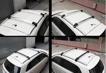 2 Color For Choice! Roof Rack Cross Bar Rails Luggage Carrier 2pcs For Mitsubishi ASX 2011-2014