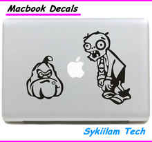 Plants vs Zombies Game for apple Sticker Macbook Skin Air 11 12 13 Pro 13 15 17 Retina Decal Computer Wall Car Vinyl Logo Case