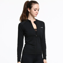 2017 New Arrival Sport Jacket Women Fitness Tracksuit Run Breathable And Quick Dry For Yoga Dancing Exercise Training Windproof